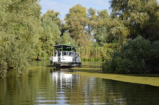 danube delta trip second boat